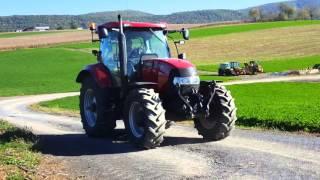 2009 case ih puma 155 farm tractor for sale inspection video