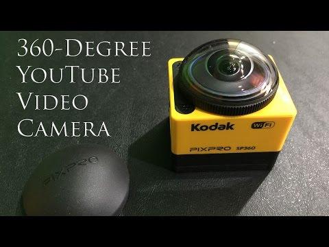 Kodak SP360 with Explorer Accessory Pack Unboxing in 4K UltraHD
