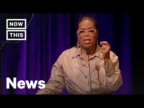 Oprah Winfrey Delivers