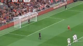 Fabinho penalty miss Liverpool vs Torino Club Friendlies 2018