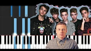 Why Don't We - I Don't Belong In This Club ft. Macklemore (Piano Tutorial)