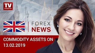 InstaForex tv news: 13.02.2019: Saudi supports oil prices (BRENT, WTI, USD/RUB)