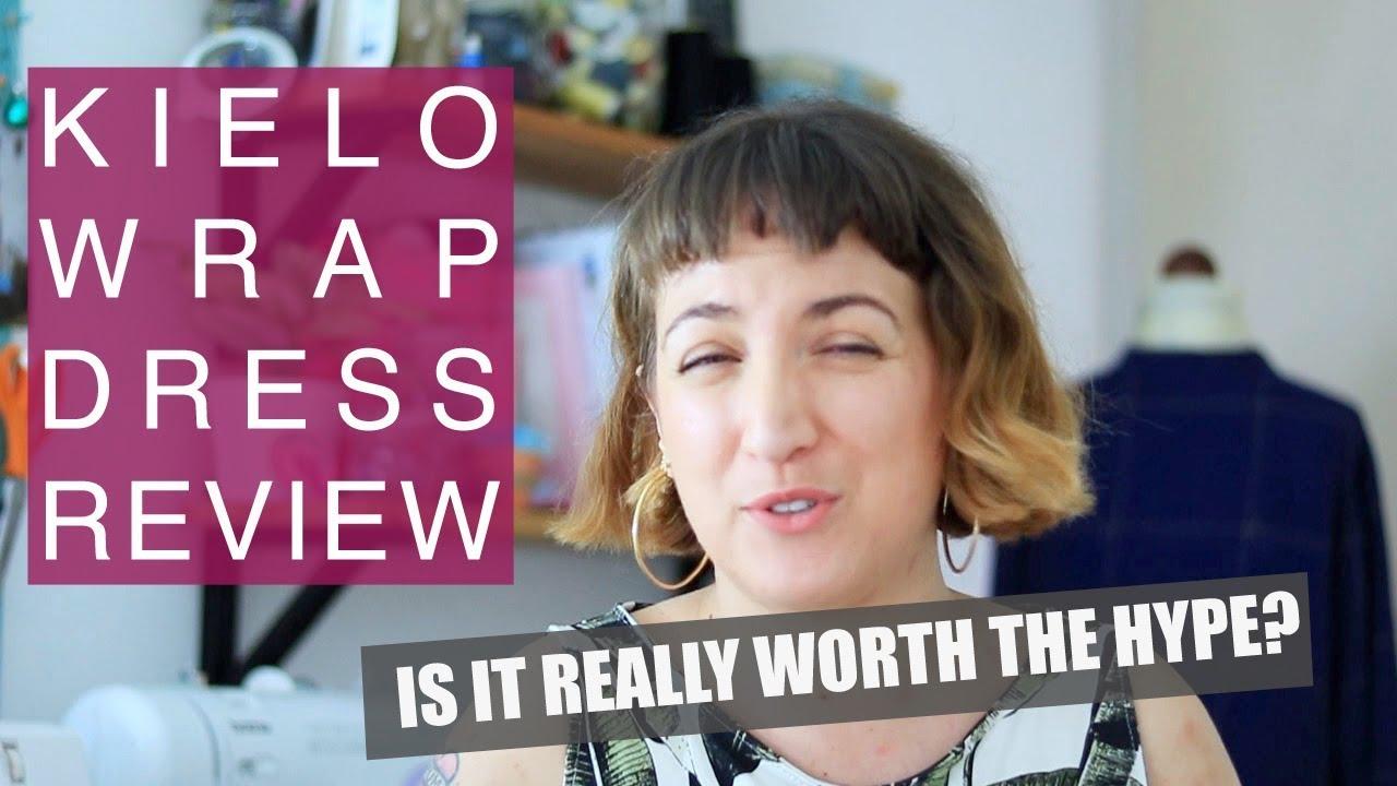 Kielo Wrap Dress Review Pattern Review Youtube