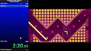 Geometry Dash Subzero Any% Speedrun in 4:53.87 | Sdslayer100
