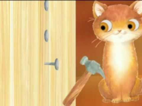 Cri cri el gato carpintero youtube for Gato de carpintero