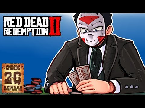 CAMP ATTACKED, POKER & A ROBOT! - RED DEAD REDEMPTION 2 - Ep. 26!