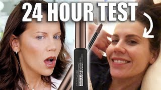 TESTING 24hr BROWS FOR 24hrs!!!