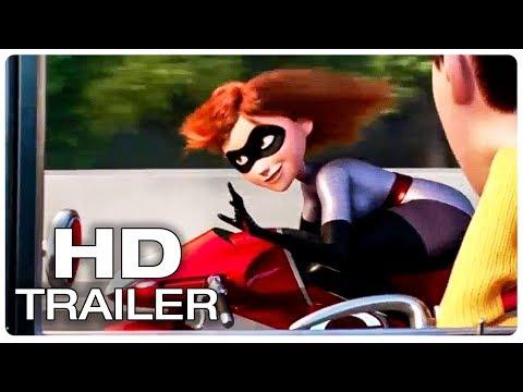 Incredibles 2 Trailer 2 Extended (2018) Superhero Movie HD