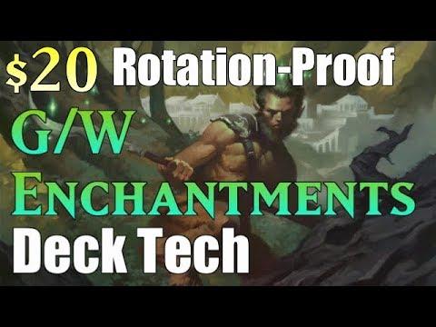 Mtg Budget Deck Tech: $20 G/W Enchantments (Rotation-Proof)!