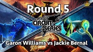 ARGCS Anaheim Round 5 Garon Williams vs Jackie Bernal