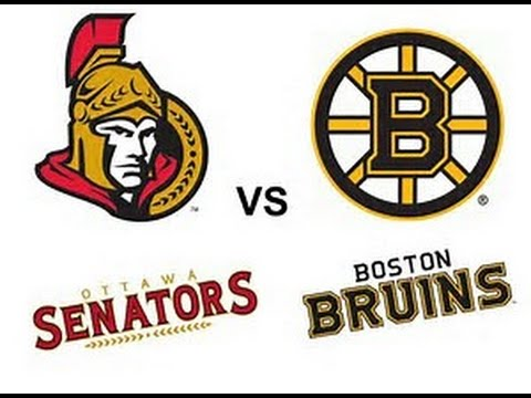 Eastern Conference First Round Game 6 PostGame: Ottawa Senators at Boston Bruins