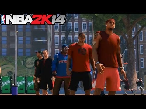PS4 NBA 2K14 MyCAREER The Park: The Jumper Is Money! Big 3 At The Park ft. LD2K