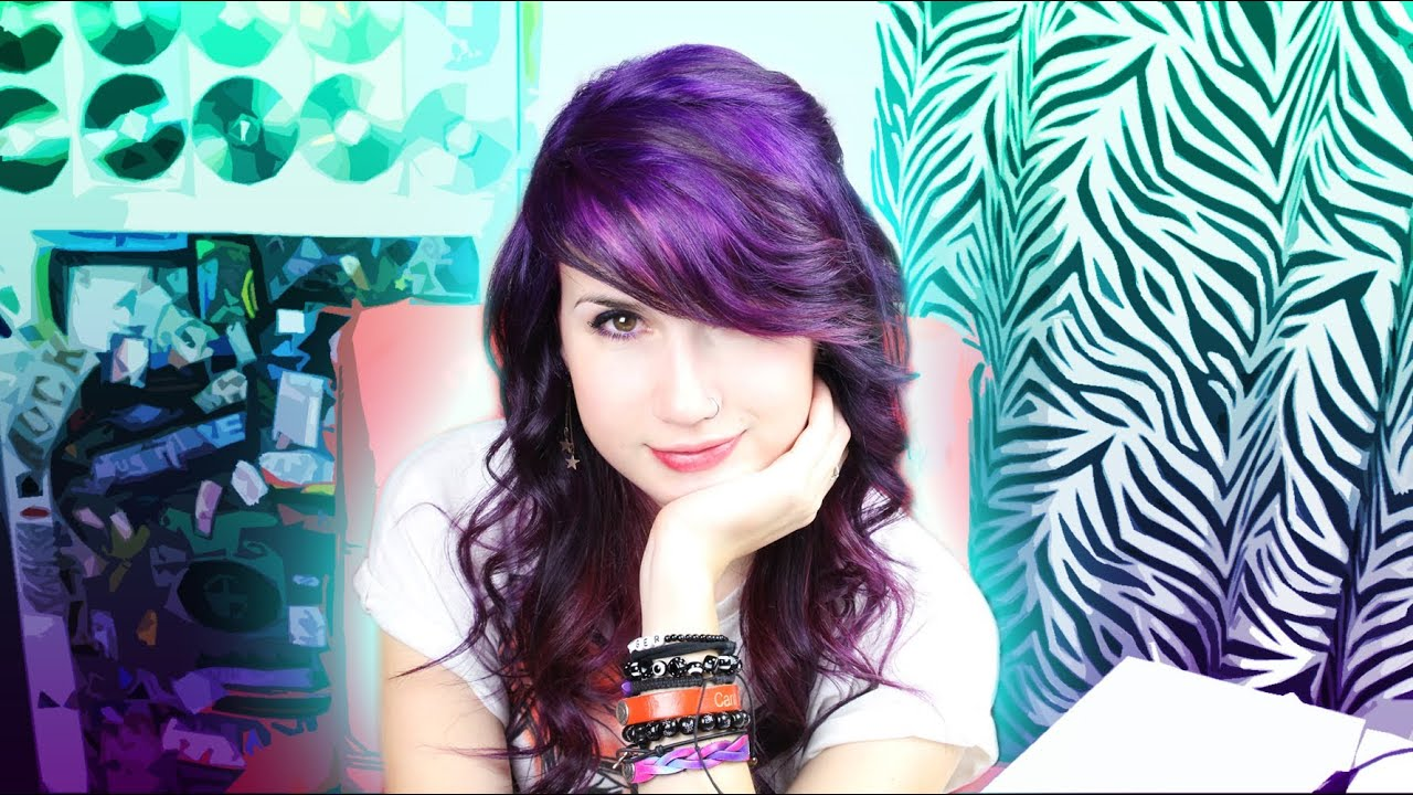 My Purple Hair Journey It Begins Youtube