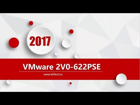 VMware VCP6.5-DCV 2V0-622PSE latest exam questions
