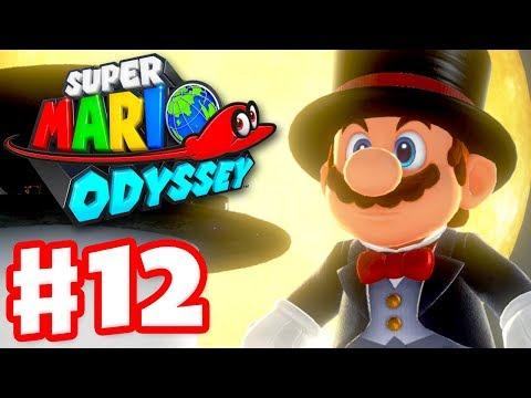 Super Mario Odyssey - Gameplay Walkthrough Part 12 - Cap Kingdom 100%! (Nintendo Switch)