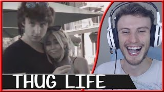 REACT THUG LIFE #76 | Canal HueHueBR
