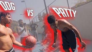 1v1 BASKETBALL DDG SQUAD vs SPICY GANG ! DDG vs. Patty (SOMEBODY GOT EXPOSED)