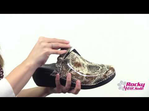 Rocky 4EurSole Inspire Me Women's Patent Print Clog Style# - RKH052