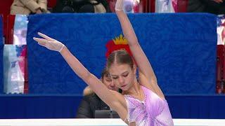 Александра Трусова Короткая программа Женщины Чемпионат России по фигурному катанию 2021