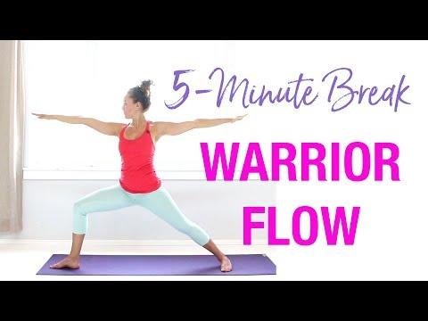 5-Minute Yoga Warrior Flow