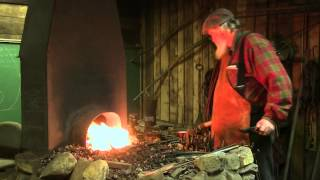 calerin forge tomahawk forging the blade part 2