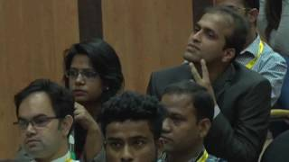 Deepika Narayan Bhardwaj asking questions at the National Conference on Law Reforms,2016