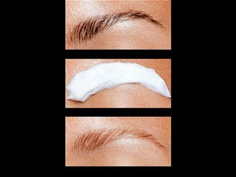 How I Lightenbleach My Eyebrows Youtube