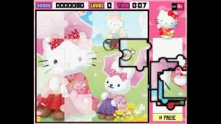 Hello Kitty Puzzles Game - Online Hello Kitty Games