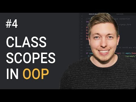 4: Visibility And Inheritance In OOP PHP | OOP Scopes | Object Oriented PHP Tutorial | PHP Tutorial