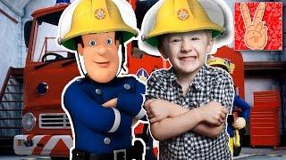 Игра мультик Пожарный Сэм №2, Сэм пожарник на русском языке онлайн