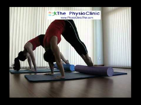 Pilates Roller Foam at ThePhysioClinic 17Jul14 Epi03