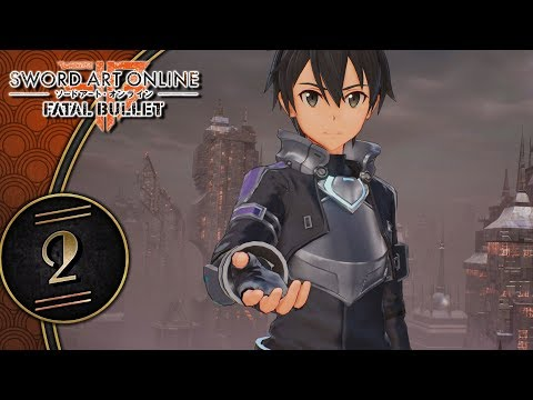 Sword Art Online: Fatal Bullet (PS4, Let's Play, Blind) | Some Alone Time With Kirito! | Part 2