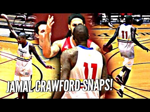 Jamal Crawford SNAPS After Game Gets SERIOUS & Heated! Mason Plumlee Makes Crawsover Debut!
