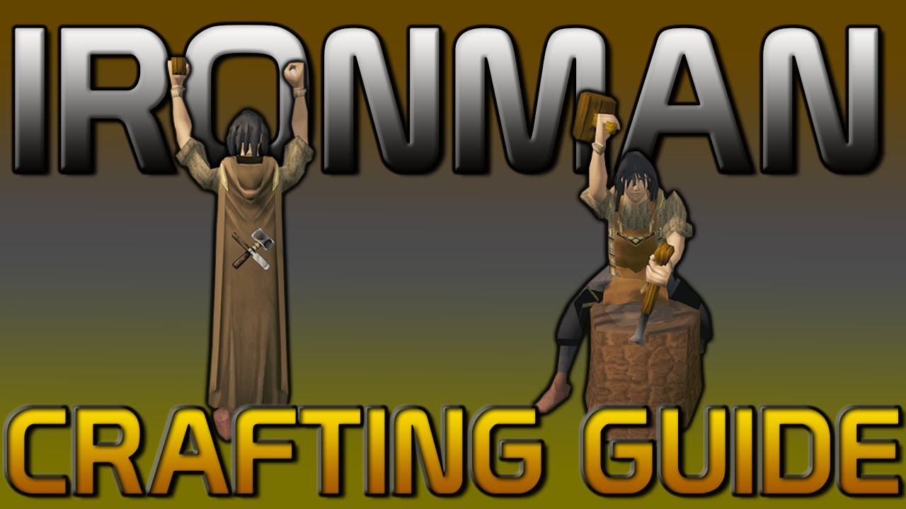 Ironman Crafting Guide Rs3 2017 Youtube