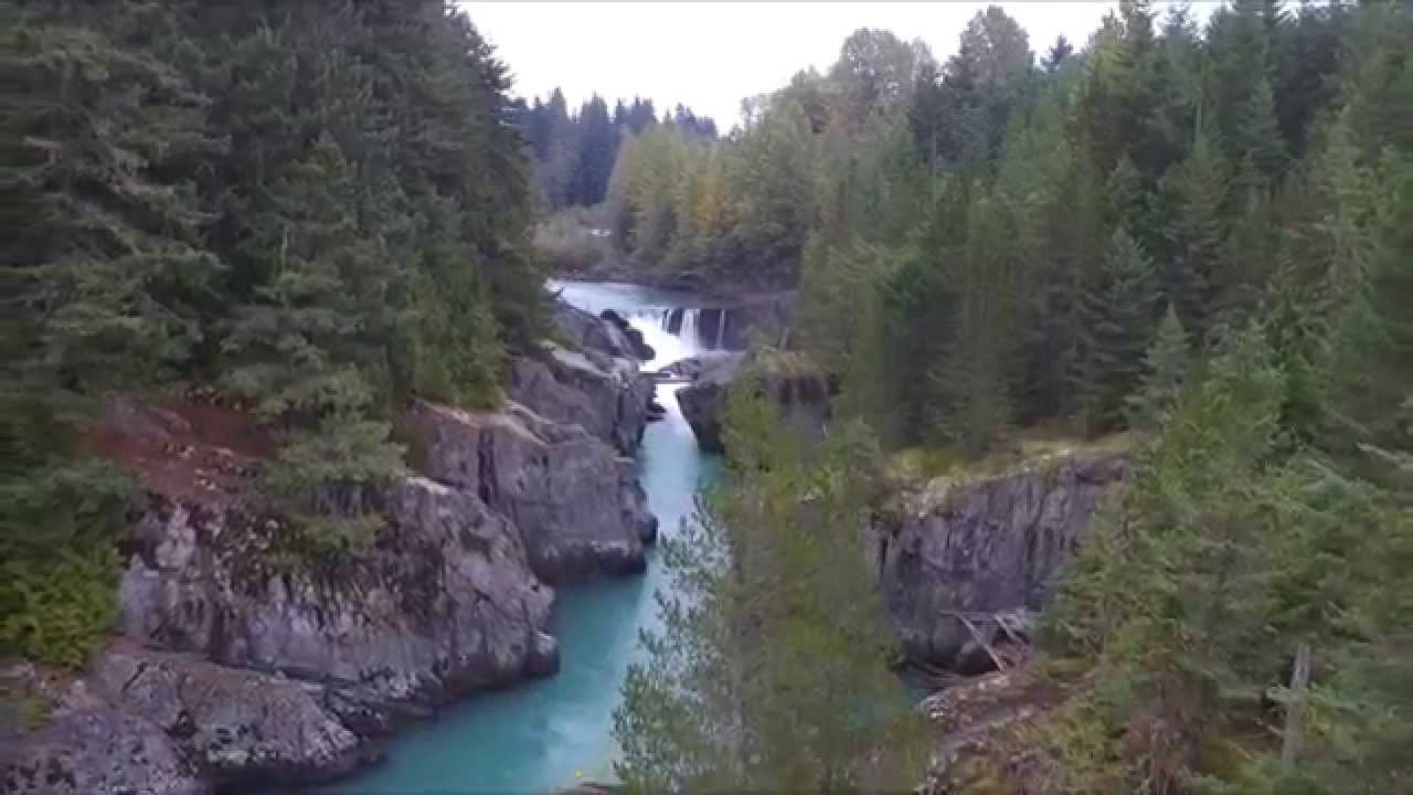 Cougar Mountain - Whistler B.C - Aerial footage