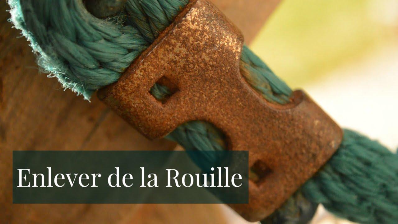 Enlever La Rouille Sur Une Grille De Barbecue [ restauration ] enlever de la rouille