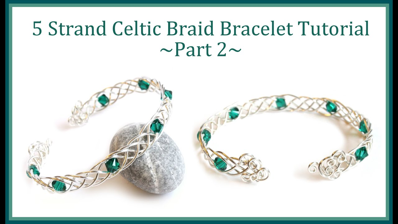 20 design tutorial jewelry tutorial how to make a celtic weave bracelet 20