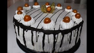 Meyveli Bol kremali Şahane Pasta Tarifi - Gülsümün Sarayi