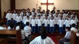 Publication Date: 2012-05-20   Video Title: 聖公會呂明才紀念小學 20120514低年級聖詩_耶穌愛我歌
