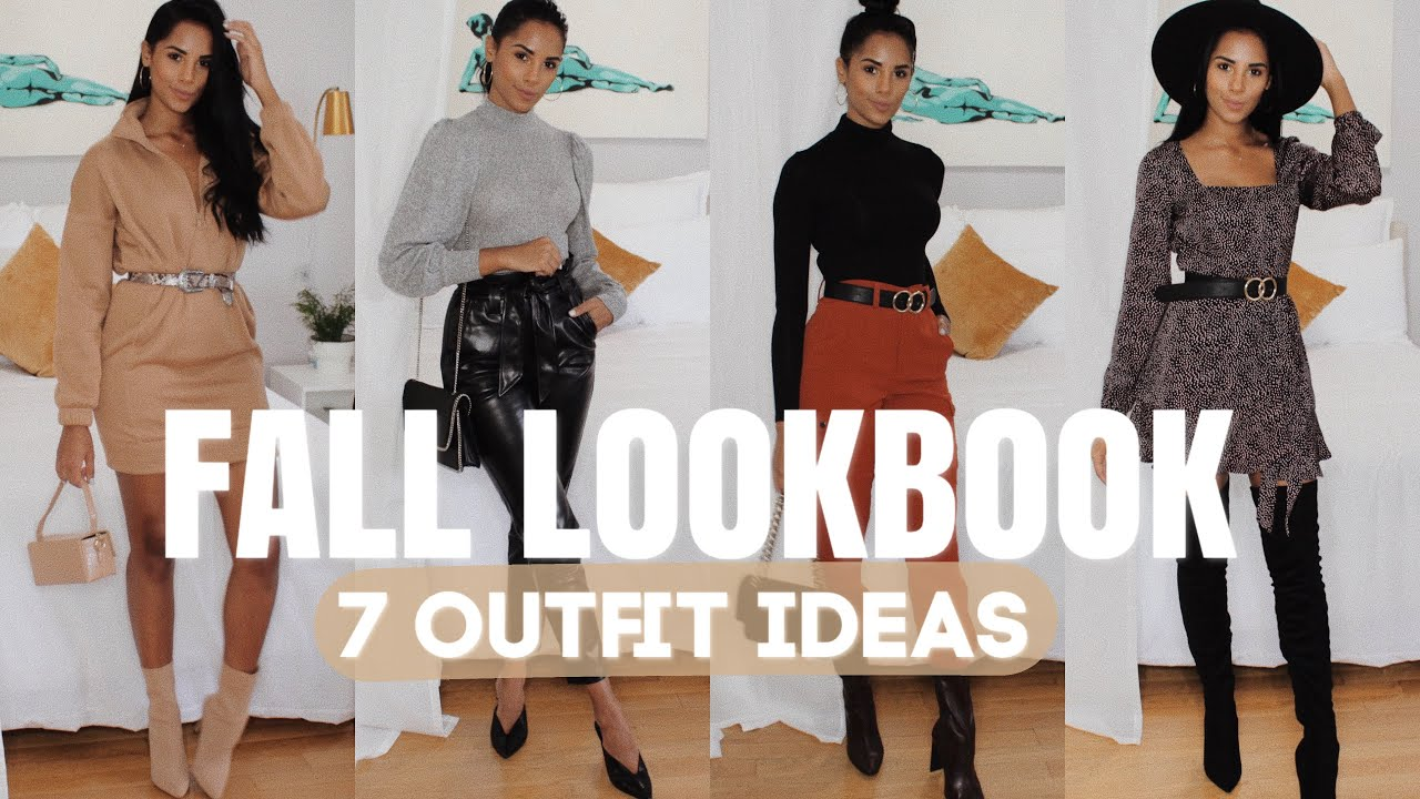 [VIDEO] - FALL LOOKBOOK 2019 | 7 Outfit Ideas 6