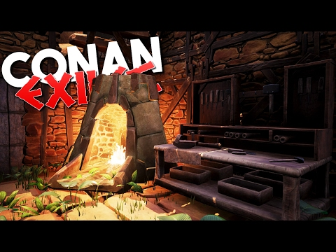 BEST IRON and COAL LOCATION - Lets Play Conan Exiles Ep #8 Gameplay