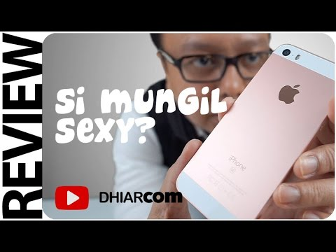 Review & Unboxing iPhone SE Indonesia