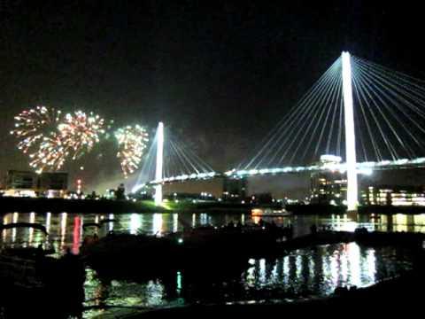TD Ameritrade Park Fireworks Omaha, NE July 3, 2012.MOV