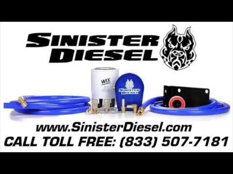 Installing Sinister's Cummins Coolant Filter Kit