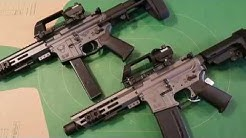 """300 Blackout and 5.56 PDW """"Honey Badger"""" AR Pistols w/ the FosTech Echo ARII Trigger!"""