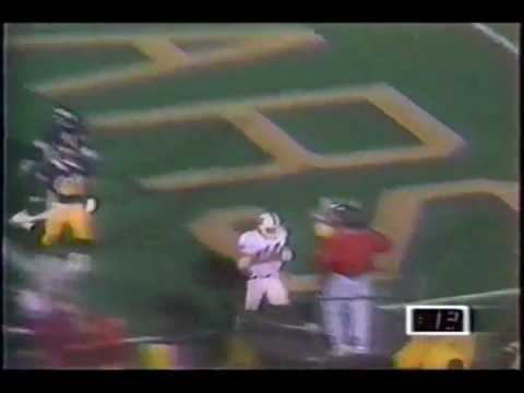 Ed McCaffrey college highlights: senior season (1990) at Stanford