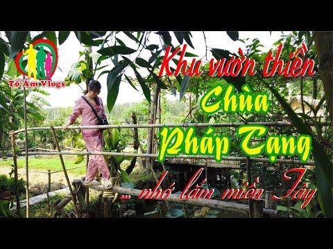 Tham quan Vườn thiền ở Chùa  Pháp Tạng, H.Bình Chánh, TP.HCM ❤️ Tổ Ấm Vlogs ❤️