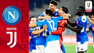 Napoli 0-0  4-2  Juventus | Napoli Win The Coppa On Penalties! | Final | Coppa Italia Coca-cola