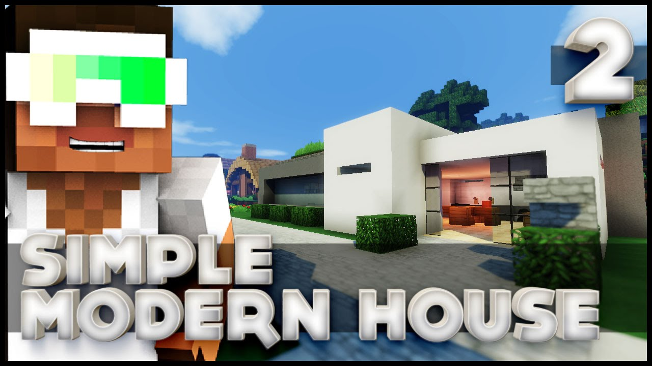 How to build a simple modern house part 2 let 39 s build for Modern house 6 part 2