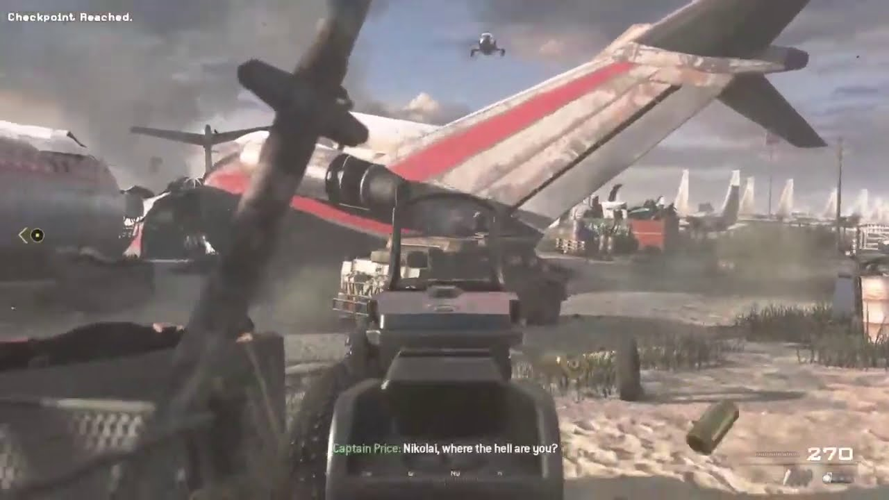 Call of Duty MWII (Campaign Remastered) - Veteran Mode (Part 6)- PS4 for Gamers (Laith9Sky)